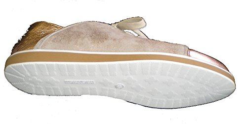 Ara womens Leather flats-shoes Rosegold OTGao7134