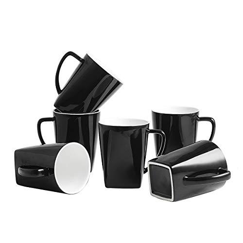 coffee cup set black - 2