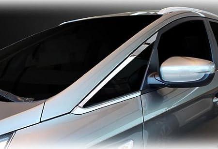 Chrome Window Sill A Pillar Molding Trim 2p For 2013 2017 Kia Rondo
