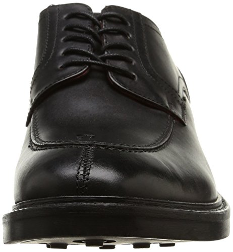 Base LondonBrooksby - zapatos derby hombre negro - Noir (Waxy Black)