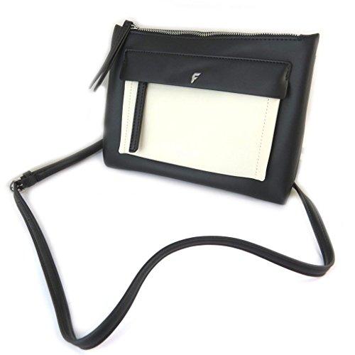 Bolso de la bolsa 'Fiorelli'en blanco y negro - 24x19x2.5 cm.