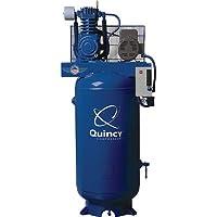 - Quincy Reciprocating Air Compressor - 5 HP, 460 Volt, 3 Phase, 80-Gallon Vertical, Model# 253DS80VCB46