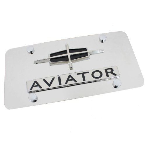 lincoln-logo-aviator-name-on-stainless-steel-plate