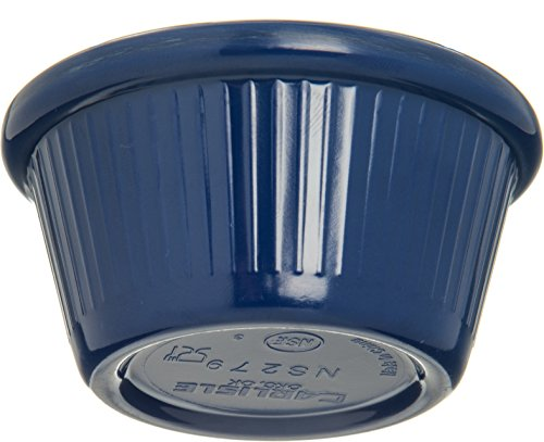 Carlisle S27960 Melamine Fluted Ramekin, 2 oz. Capacity, Cobalt Blue (Case of 48) by Carlisle (Image #4)