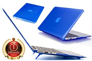 iPearl mCover Hard Shell Cover Case For 11.6-inch Apple MacBook Air A1370 & A1465 - BLUE