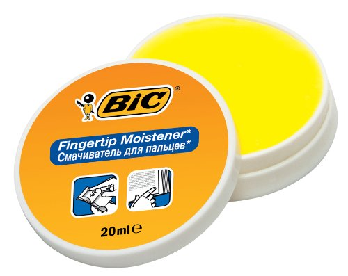 BIC 897178 Fingeranfeuchter BIC Fingertip, White/Yellow by BIC