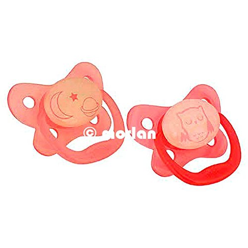 Dr. Brown's 6-12 Months Glow in the Dark Pacifier - Boy