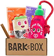 BarkBox Monthly Subscription Box   Dog Chew Toys, All Natural Dog Treats, Dental Chews, Dog Supplies Themed Mo