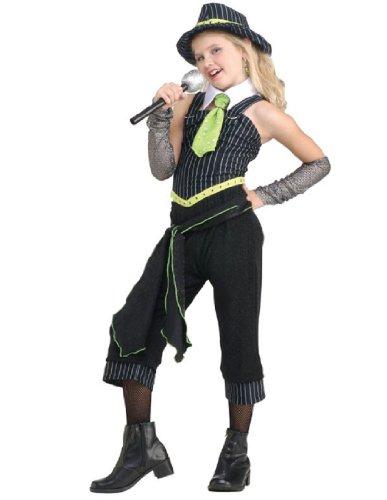 Rubie's Costume Child's Gun Moll Costume, One Color, Medium (Female Gangster Costume)