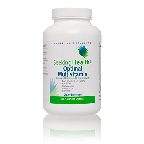 - Seeking Health Optimal Multivitamin | 240 Capsule | Multivitamin Supplement | Daily Multivitamin | Multivitamin for Men | Multivitamin for Women