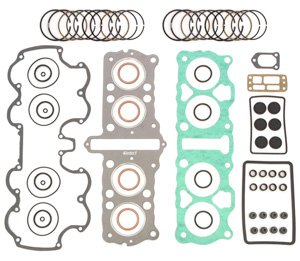 - Top End Engine Rebuild Kit - Gaskets & Piston Rings - Compatible with Honda CB750 1976-1978