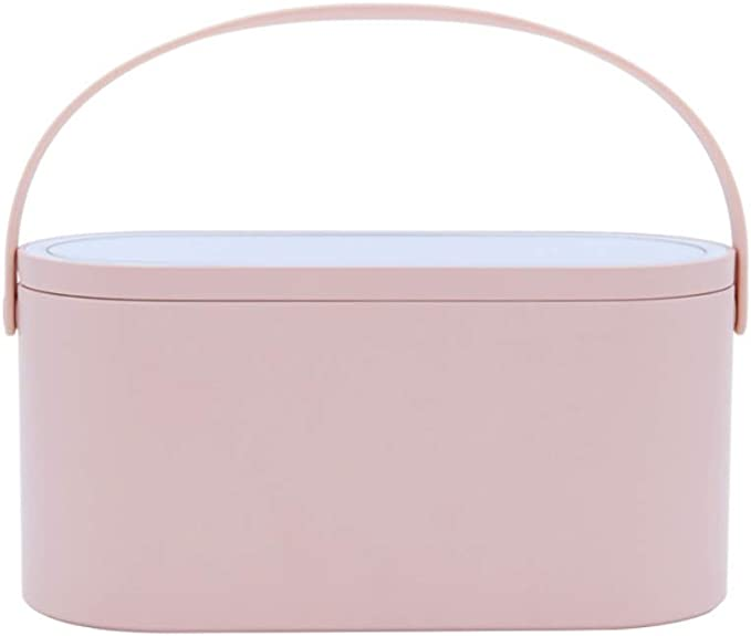 Amazon.com: Forart Makeup Case Travel Makeup Bags Organizer with LED Light Mirror, Makeup Train Case Portable Cosmetic Box Jewelry Organizer for Women: Home & Kitchen