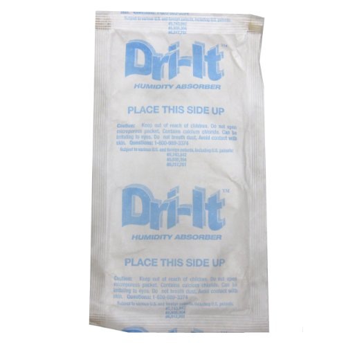 Dri-It CA-00-09 Moisture Absorber Single Packs (Carton of - Moisture Its