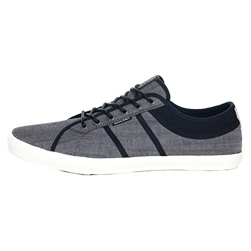 Jack&Jones Baskets Homme Gris 12122610 JFWCROSS CHAMBRAY ANTHRACITE