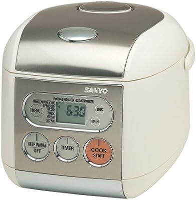 amazon com sanyo ecj f50s micro computerized 5 cup uncooked rice rh uedata amazon com sanyo rice cooker instructions ecj-d55s sanyo rice cooker instructions ecj-d55s