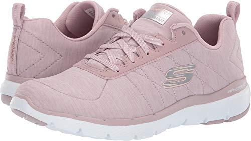(Skechers Flex Appeal 3.0 Insiders Womens Sneakers Lavender 10)