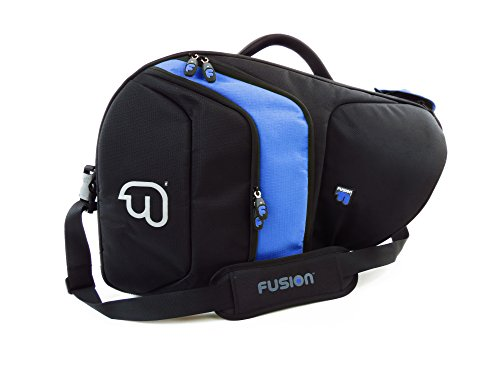 Fusion FB-PB-11-B French Horn (Fixed Bell), Black/Blue Bag by Fusion