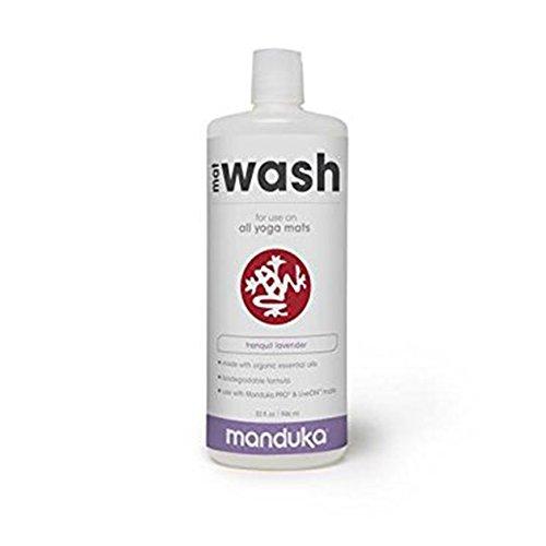 Manduka Organic Yoga Mat Cleaner, 32 oz, Tranquil Lavender