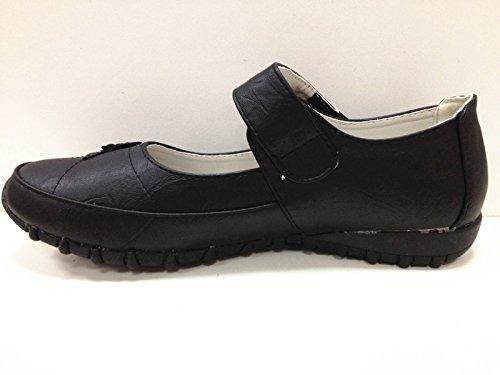 Femmes Chaussures babies mocassins ballerine 8808-27 NOIR