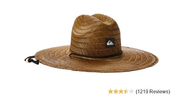 a36ce565 Amazon.com: Quiksilver Men's Pierside Straw Hat: Clothing