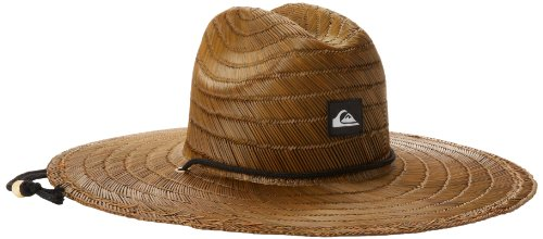 Quiksilver Men's Pierside Straw Hat, Dark Brown, Large/X-Large]()