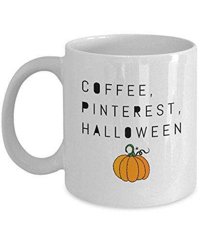 Coffee, Pinterest, Halloween Coffee Cup, Pumpkin Mug]()