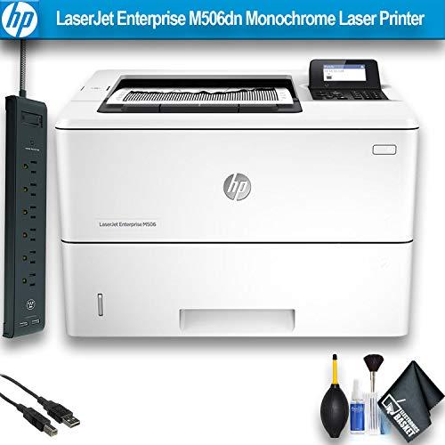 HP Laserjet Enterprise M506dn Monochrome Laser Printer (F2A69A) Office Bundle