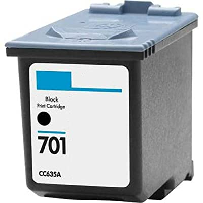 HouseOfToners HP 701 (CC635A) Black Replacemnet Ink Cartridge (Remanufactured in the USA)