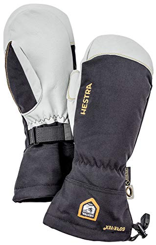 Hestra Army Leather GORE-TEX - Waterproof, Long-Cuffed Snow Mitt for Skiing and Mountaineering