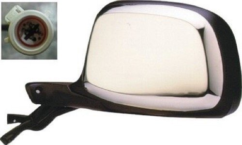 - Go-Parts » Compatible 1992-1997 Ford F-150 Side View Mirror Assembly/Cover/Glass - Left (Driver) Side - (Custom + Eddie Bauer + Special + XL + XLT + XLT Lariat) F5TZ 17683 BA FO1320124 Replacement)
