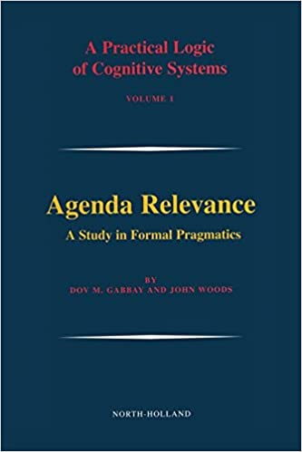 Amazon.com: Agenda Relevance: A Study in Formal Pragmatics ...