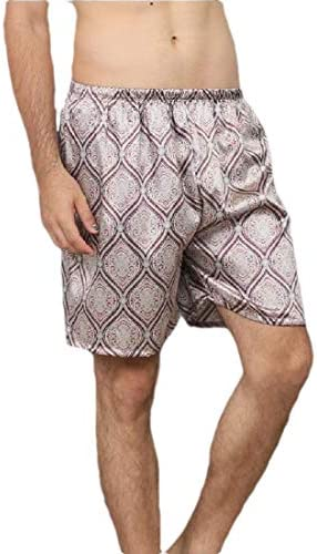 Men's Short Pajama Bottoms Baggy Sleep Pants Comfort Stretch Shorts