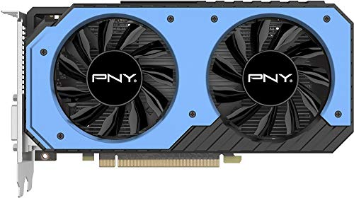 PNY GeForce GTX 950 2GB Dual Fan OC GDDR5 VCGGTX9502XPB-OC-BB Video Card GPU (Pny Nvidia Geforce Gtx 950 2gb Gddr5)