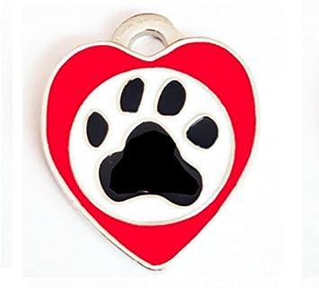 Zhjz Pflaster In Herzform Hundeanhänger Haustier Aufkleber