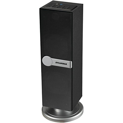 Sylvania SP269-Black Bluetooth Floor Standing Tower Speaker