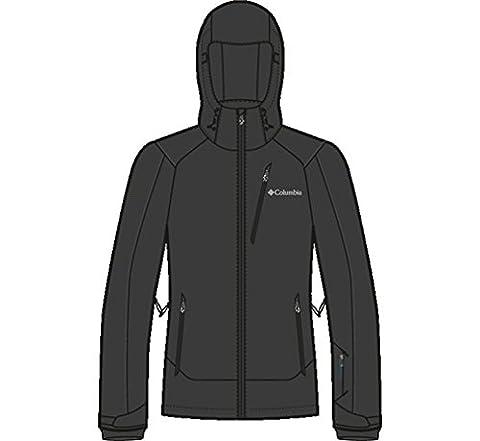Columbia Millenium Burner Jacket, Black, Large (Millenium Burner Jacket)