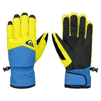 Quiksilver Cross Glove M Guantes, color amarillo, talla XL