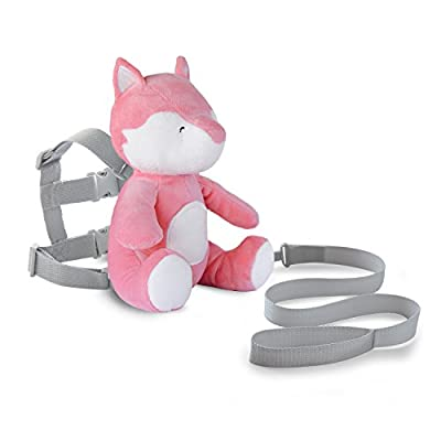 Carter's Toddler Safety Harness, Animal Fox, Pink/Salmon