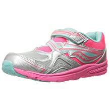 Saucony Girls Baby Ride Sneaker (Little Kid/Toddler)