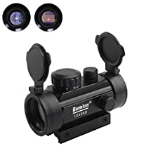 Red Green Dot Sight Rifle Scope Reflex Holographic Optics Tactical Fits 11mm/ 20mm Rail for Airsoft Gun