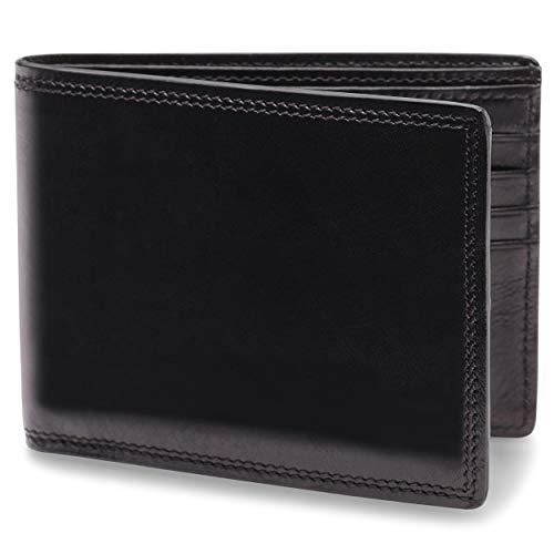 Bosca   Men's 8 Pocket Deluxe Wallet w/RFID Blocking in Dolce Italian Leather (The Best Mens Wallet In The World)