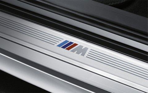 BMW Genuine Door Sill Strip Front Right 51 47 8 045 292
