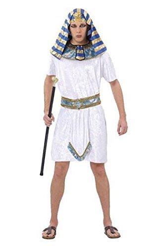 Pharoah King Of Egypt Costumes (Pharoah Costume Outfit for Tutankhamun King Egypt Historic Biblical Fancy Dress by Pams)
