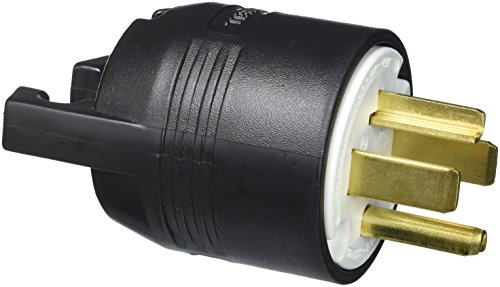 Hubbell HBL9431C Plug, 3 Pole, 4 Wire, 30 amp, 125/250V, 14-30P on