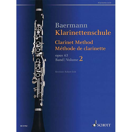 Clarinet Method, Op. 63 (Volume 2, Nos. 34-52 - Revised Edition) Woodwind Method Series Softcover Pack of - Softcover Method