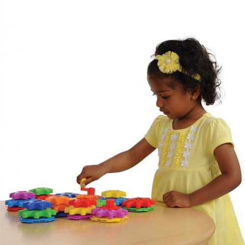 Learning Journey International LLC Techno Kids Stack & Spin Gears Super Set