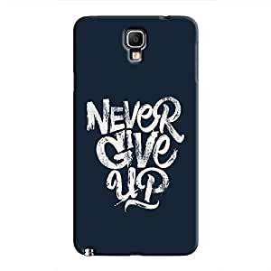 Cover It Up - Never Give Up Galaxy Note 3 Neo Hard Case