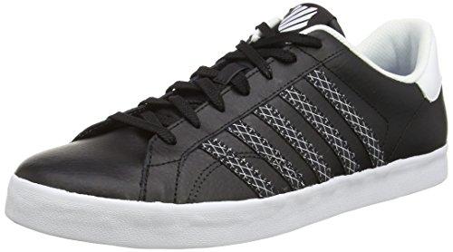 K-Swiss Belmont So - Zapatillas Hombre Negro (Negro/Blanco)