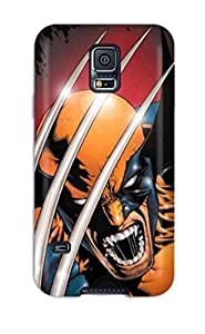 Galaxy S5 Case Cover Artistic Wolverine Case - Eco-friendly Packaging by lolosakes