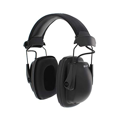 - Howard Leight by Honeywell Sync Stereo MP3 Earmuff (1030110), Black